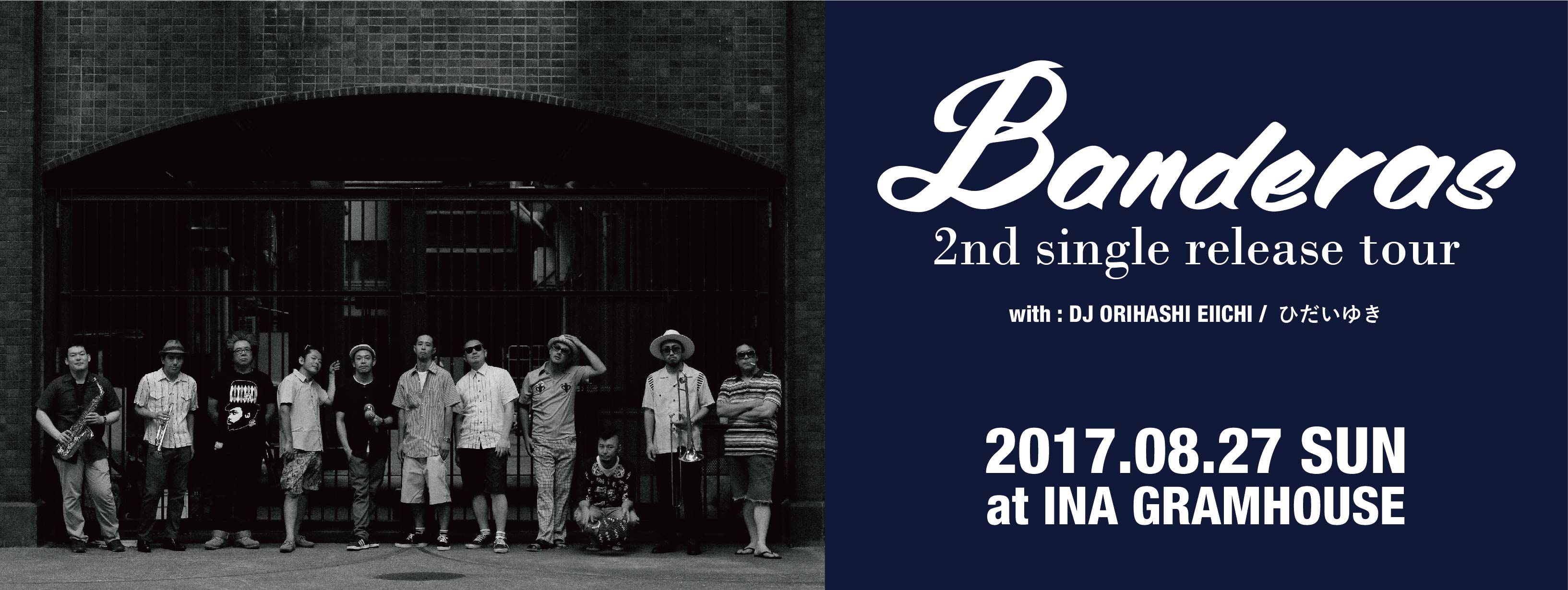 Banderas 2nd single release tour!!