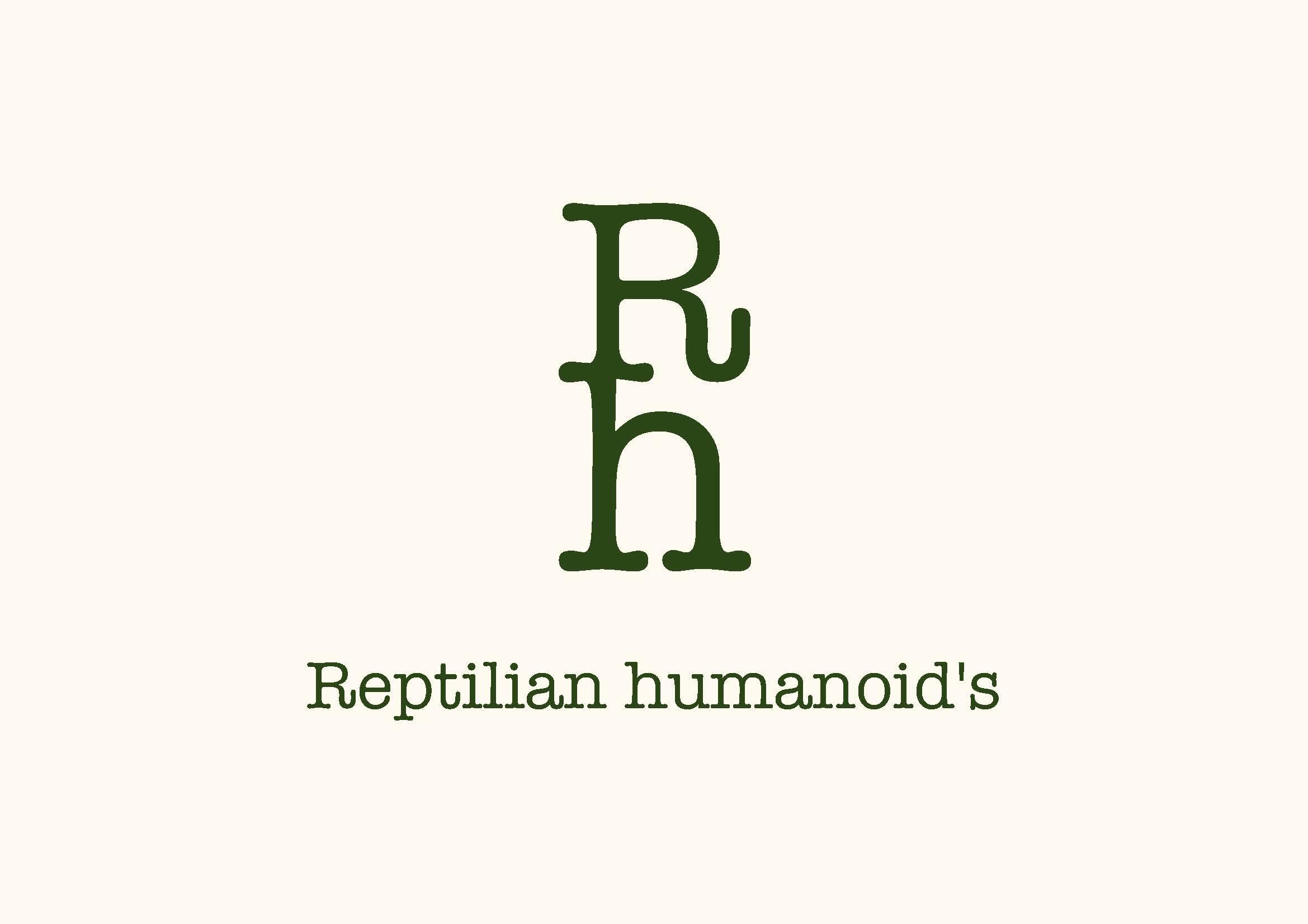 Reptilian humanoid's
