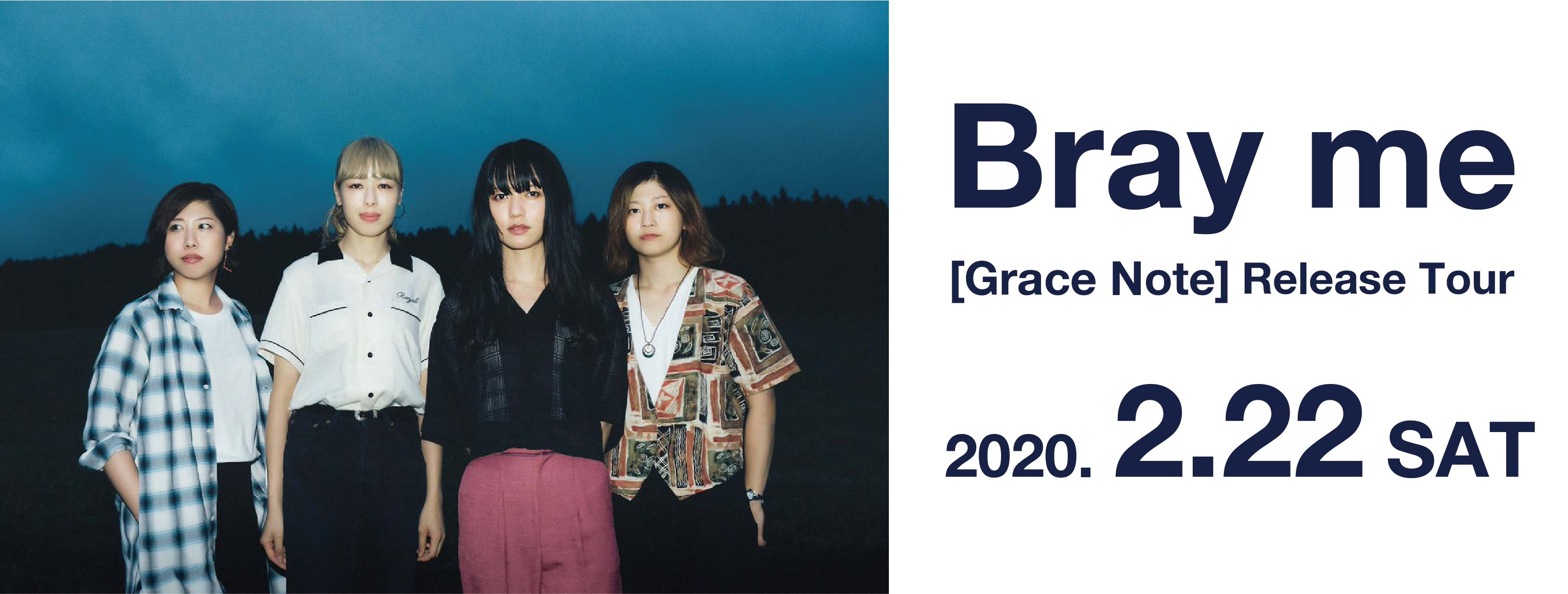"Bray me ""GRACE NOTE"" Release Tour"
